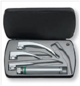 Classic+ Fiber Optic (F.O.) laryngoscope sets (HEINE, Germany)