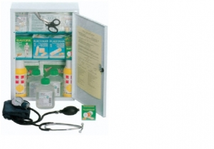 GIMA FIRST AID CASE - LARGE KIT –  metal cabinetFIRST AID CASE -