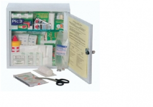 GIMA FIRST AID CASE - MEDIUM KIT –  metal cabinet
