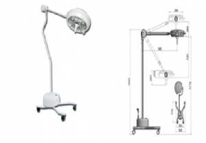 GIMA PENTALED 30 LED LIGHT - mobile stand