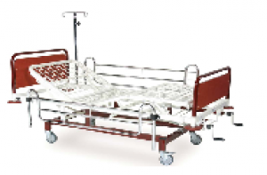 K012  HOSPITAL BED WITH THREE ADJUSTMENTS