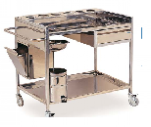 K028 - PP   DRESSING TROLLEY