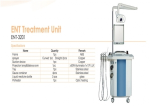 Perlong Medical Workstation ENT-3201